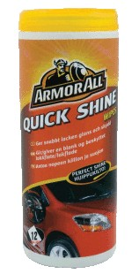 Armour All Quick Shine Wipes