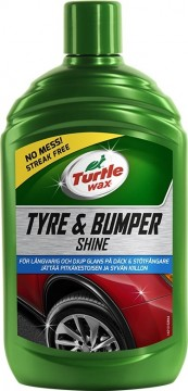 Turtle Wax Tyre & Bumper Shine