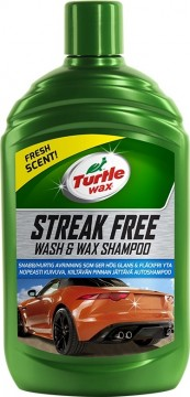 Turtle Wax Streak Free Wash & Wax Shampoo