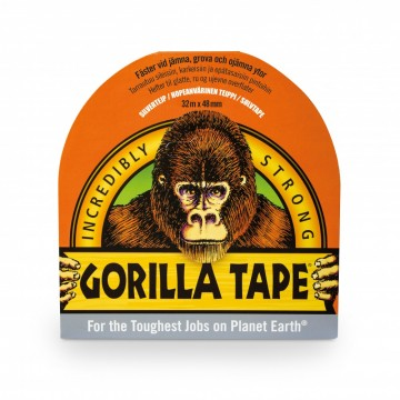 Gorilla Tape Sølv 32 m. x 48 mm