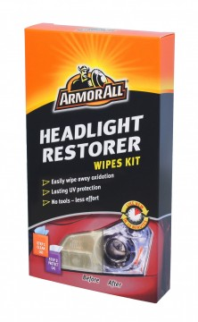 ARMOR ALL Headlight Restorer Wipes