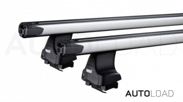 Thule 754 SlideBar takstativ - Komplett -  Colorado 4dr- Dobbel pick-up 04-11