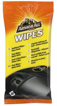 ARMOR ALL Vinyl Wipes Flatpack