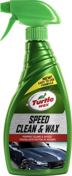 Turtle Wax Speed Clean & Wax