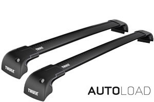 Thule Wingbar Edge Flush/Fix SORT -  Komplett- Honda CR-V 2007-2011