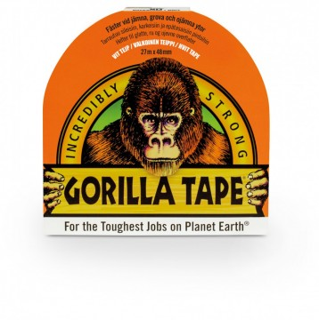 Gorilla Tape Hvit 27 m. x 48 mm