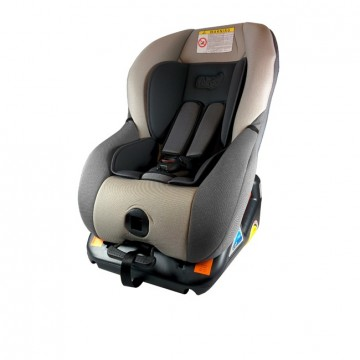 FAIR ISOFIX BARNESTOL G01 0-18kg GRÅ/SORT