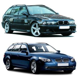 BMW 5 stv rail 97-09