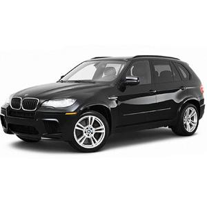 BMW X5 2007-2013 med flush rail