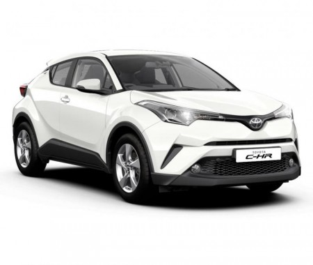 C-HR, 4-dr Coupé, 17-