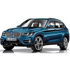 BMW X1 med flush rails 2016-